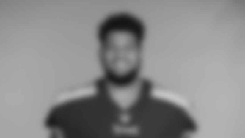 NASHVILLE, TN - JUNE 14, 2021 - The 2021 photo of Elijah Nkansah of the Tennessee Titans NFL football team.  This image reflects the Tennessee Titans active roster as of June 14, 2021 when this image was taken. Photo By Donald Page/Tennessee Titans
