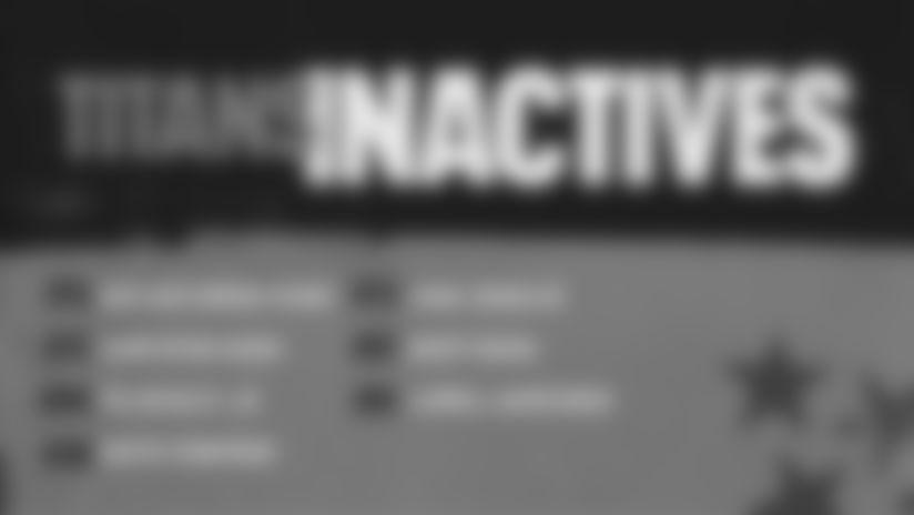 Week 1 | Titans-Broncos Inactives