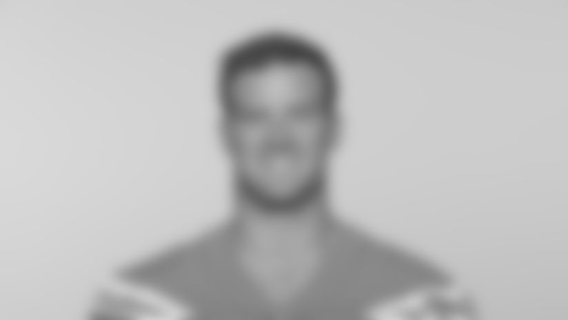 This is a 2019 photo of Nick Dzubnar of the Los Angeles Chargers NFL football team. This image reflects the Los Angeles Chargers active roster as of Monday, June 10, 2019 when this image was taken. (AP Photo)