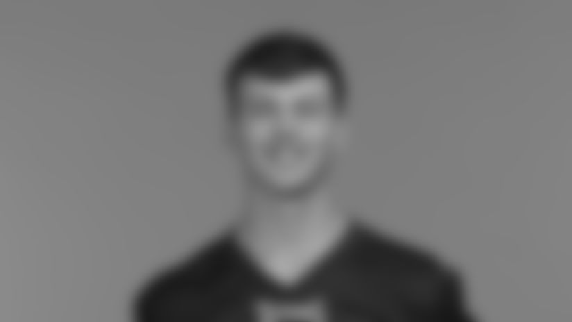 This is a 2020 photo of Tucker McCann of the Tennessee Titans NFL football team. This image reflects the Tennessee Titans active roster as of Tuesday, July 28, 2020 when this image was taken. (AP Photo)