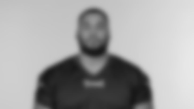 NASHVILLE, TN - AUGUST 02, 2020 - The 2020 photo of Guard Jamil Douglas #75 of the Tennessee Titans of the Tennessee Titans NFL football team.  This image reflects the Tennessee Titans active roster as of August 2, 2020 when this image was taken. Photo By Donald Page/Tennessee Titans