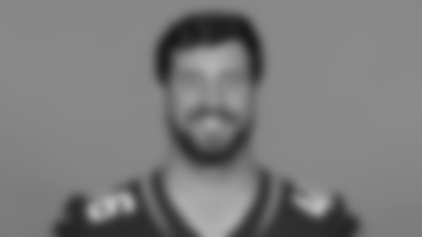 This is a 2020 photo of Matthew Orzech of the Jacksonville Jaguars NFL football team. This image reflects the Jacksonville Jaguars active roster as of Sunday, Aug. 23, 2020 when this image was taken. (AP Photo)