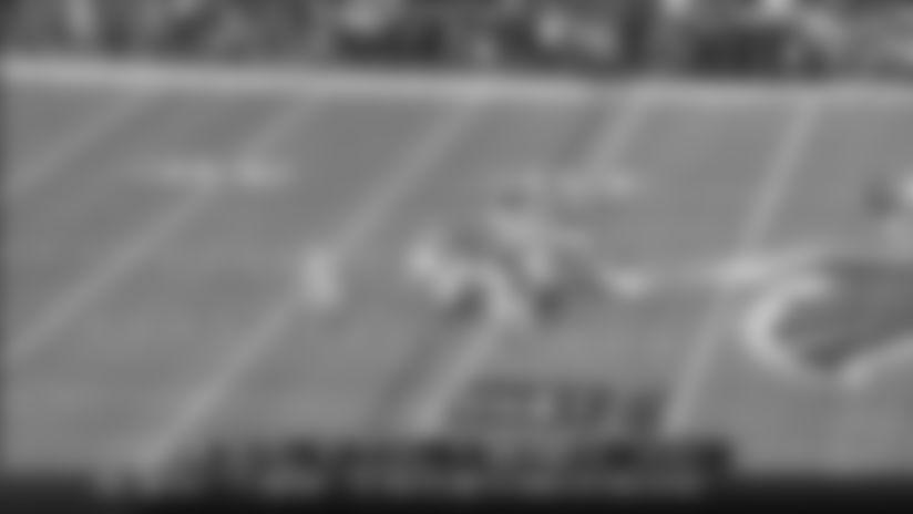 Titans Stuff Falcons RB Devonta Freeman on Fourth Down