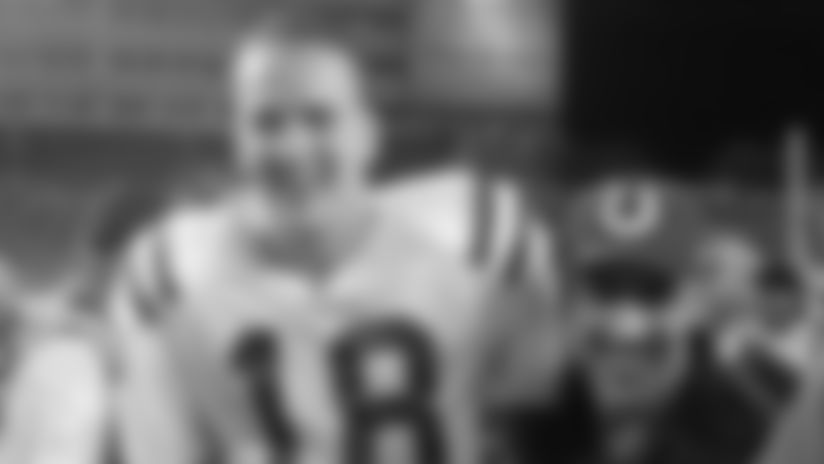 NFLN   'NFL 100 Greatest Games:' Colts Stun Buccaneers On Monday Night Football
