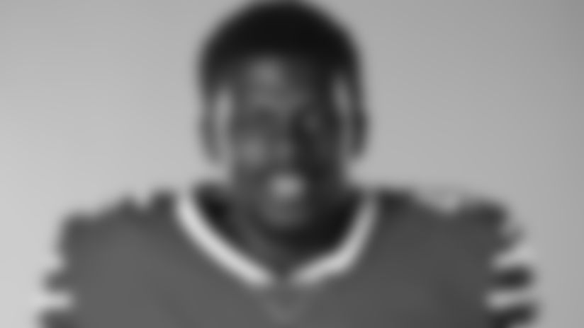 This is a 2020 photo of Christian Wade of the Buffalo Bills NFL football team. This image reflects the Buffalo Bills active roster as of July 26, 2020 when this image was taken.  (AP Photo)