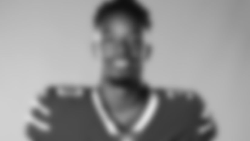 This is a 2020 photo of Dane Jackson of the Buffalo Bills NFL football team. This image reflects the Buffalo Bills active roster as of July 28, 2020 when this image was taken.  (AP Photo)