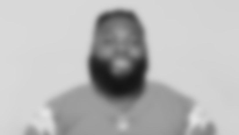 This is a 2020 photo of Joseph Linval of the Los Angeles Chargers NFL football team. This image reflects the Los Angeles Chargers active roster as of Saturday, August 1, 2020 when this image was taken. (AP Photo)