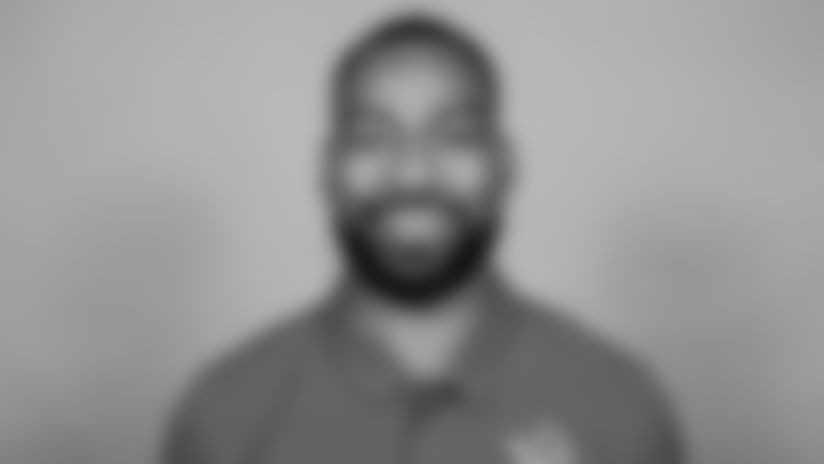 This is a 2021 photo of Aubrey Pleasant of the Detroit Lions NFL football team. This image reflects the active staff as of February 1st 2021, when this image was taken. (AP Photo)