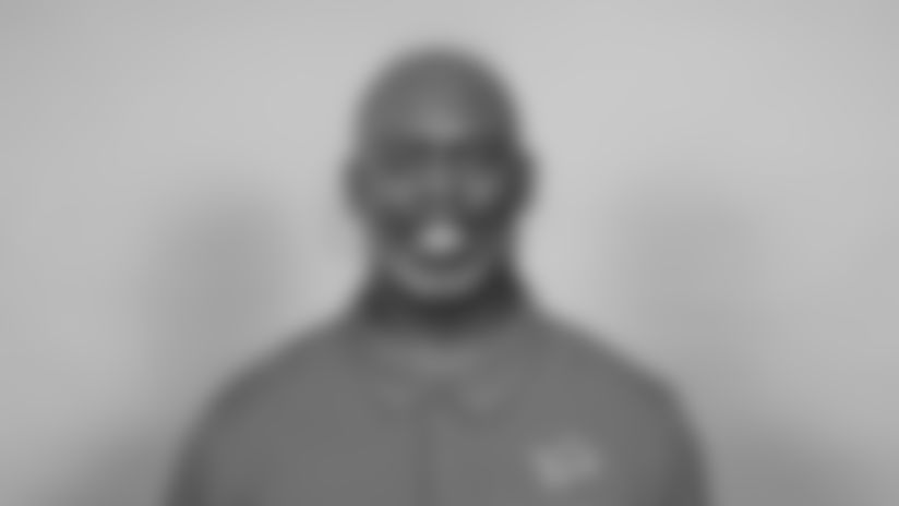 This is a 2021 photo of Anthony Lynn of the Detroit Lions NFL football team.