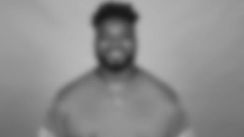 This is a 2021 photo of Detroit Lions defensive tackle Jashon Cornell (96) of the Detroit Lions NFL football team. This image reflects the  active roster as of June 7th 2021, when this image was taken. (AP Photo)