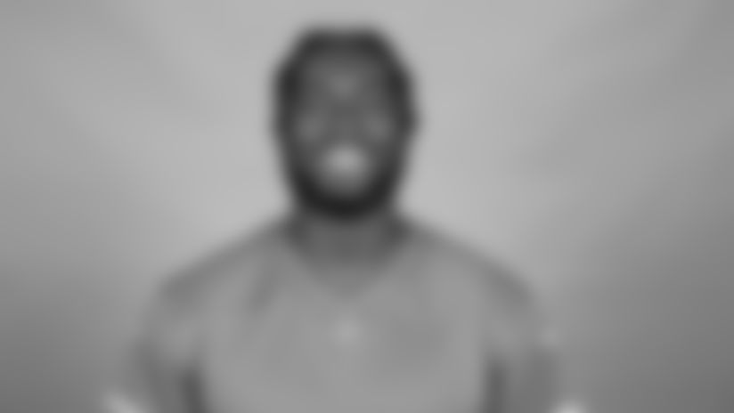 This is a 2021 photo of Detroit Lions wide receiver Javon McKinley (83) of the Detroit Lions NFL football team. This image reflects the  active roster as of June 7th 2021, when this image was taken. (AP Photo)