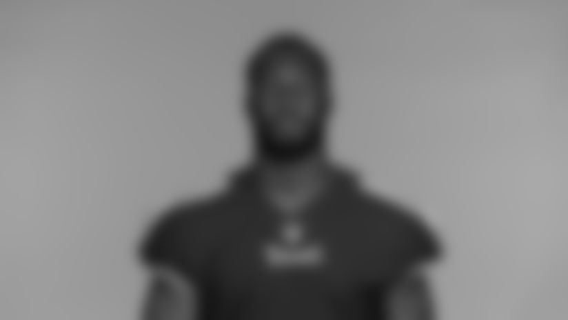NASHVILLE, TN - JUNE 14, 2021 - The 2021 photo of B.J. Bello of the Tennessee Titans NFL football team.  This image reflects the Tennessee Titans active roster as of June 14, 2021 when this image was taken. Photo By Donald Page/Tennessee Titans