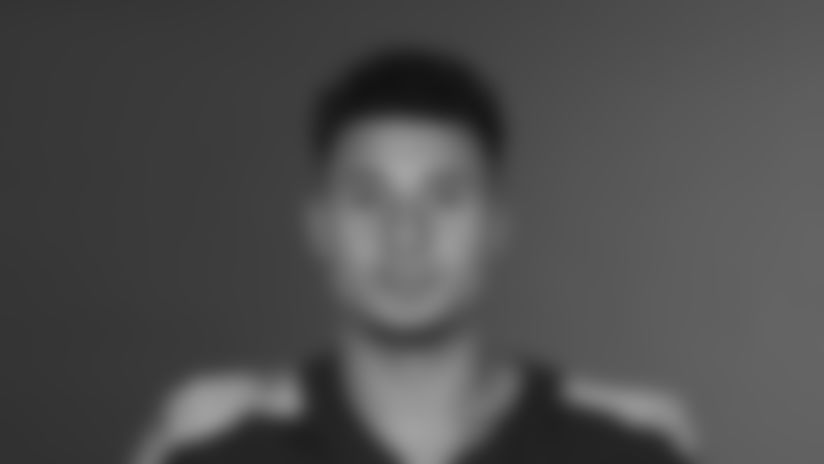 NASHVILLE, TN - May 13, 2021 - The 2021 photo of Caleb Farley of the Tennessee Titans NFL football team.  This image reflects the Tennessee Titans active roster as of May 13, 2021 when this image was taken. Photo By Donald Page/Tennessee Titans