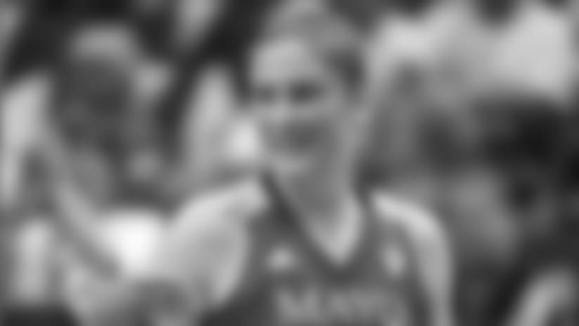 Lindsay Whalen,  Point Guard, Minnesota Lynx and Olympic Gold Medalist, USA