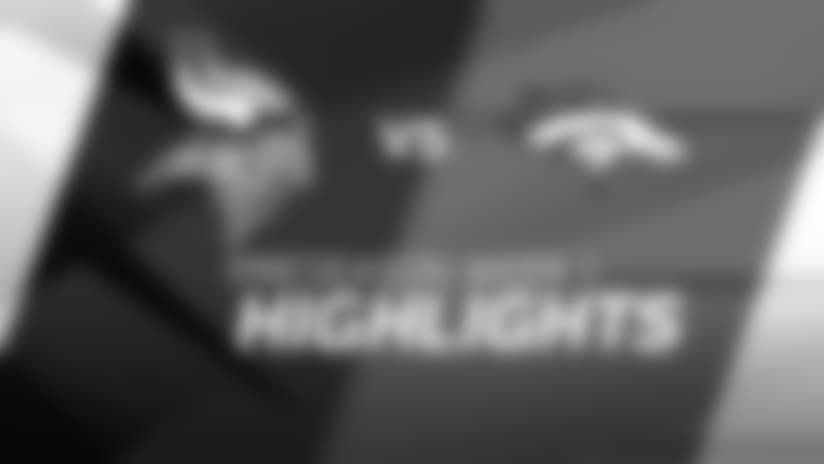 Broadcast Highlights: Vikings 42, Broncos 28