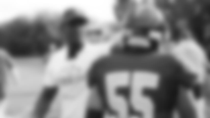 'Coach Rhodes' Surprises Edison Football Team