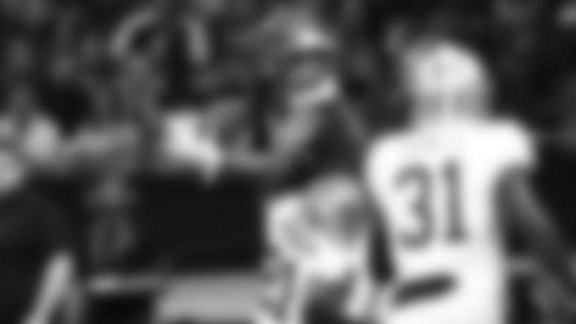 Bisi Johnson 'Mosses' Saints CB for Touchdown