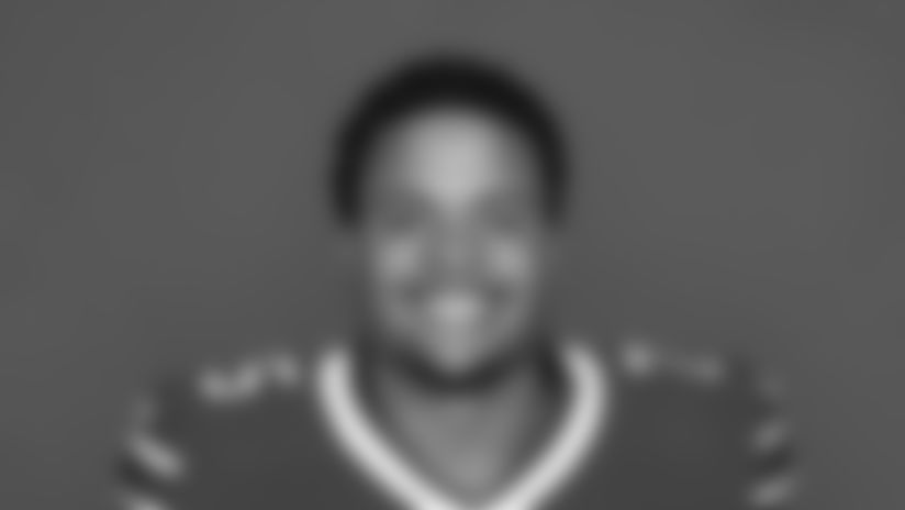 This is a 2017 photo of Eddie Yarbrough of the Buffalo Bills NFL football team. This image reflects the Buffalo Bills active roster as of Tuesday, May 23, 2017 when this image was taken. (AP Photo)