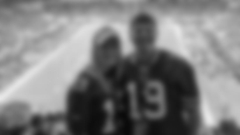Mackenzie and Jordan Binggeli enjoy Super Bowl LIV in Miami, Florida.