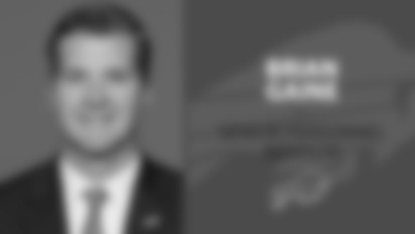 Bills hire Brian Gaine as Senior Personnel Advisor