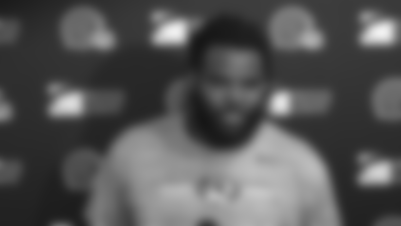Sheldon Richardson on taking a larger leadership role this season