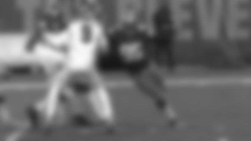 Myles Garrett strip sack vs Bengals