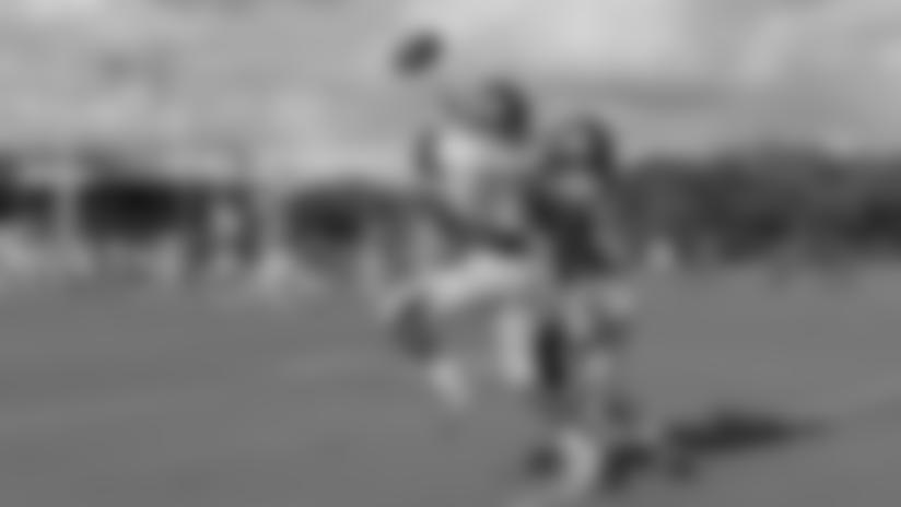 M.J. Stewart Breaks Up a Pass | Camp Highlight