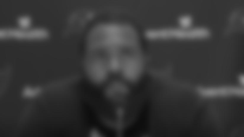 Donovan Smith on Protecting Tom Brady & Season Opener vs. Saints | Press Conference