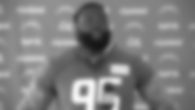 Linval Joseph on Opportunity with Bolts