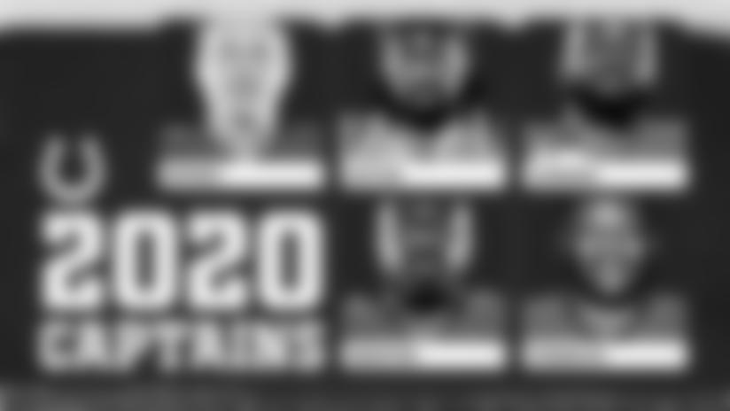 Colts Announce Team Captains For 2020 Season
