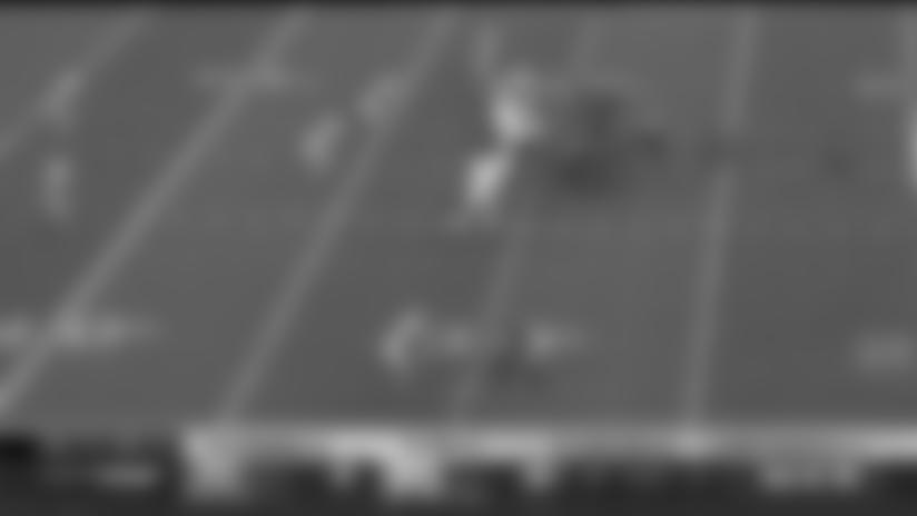 HIGHLIGHT | Roosevelt Nix's Great Block Springs James Conner For Explosive 25-Yard Run