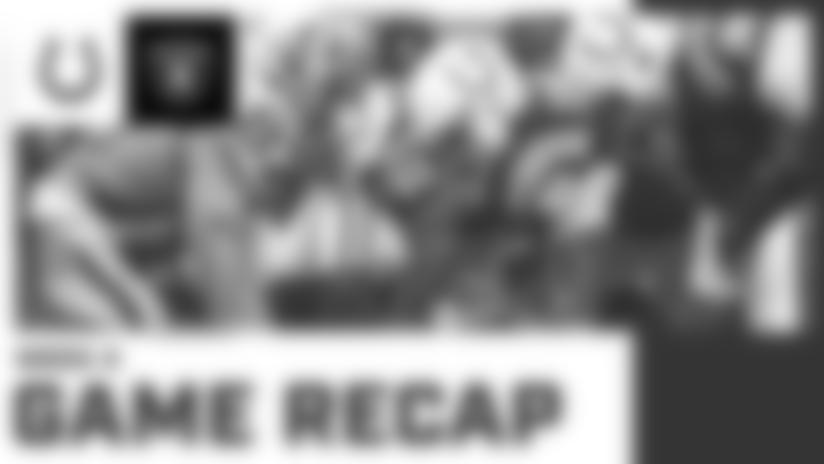 Game Recap: Colts vs. Raiders