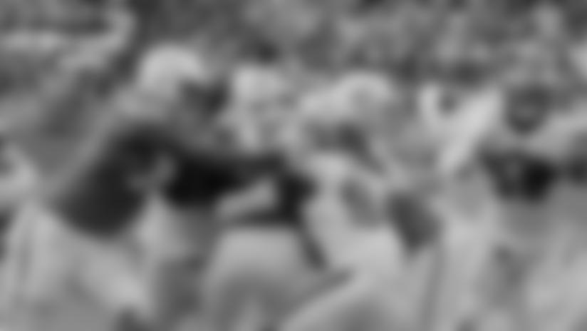 Merrill Cam: Josh Sweat sacks Ryan Fitzpatrick