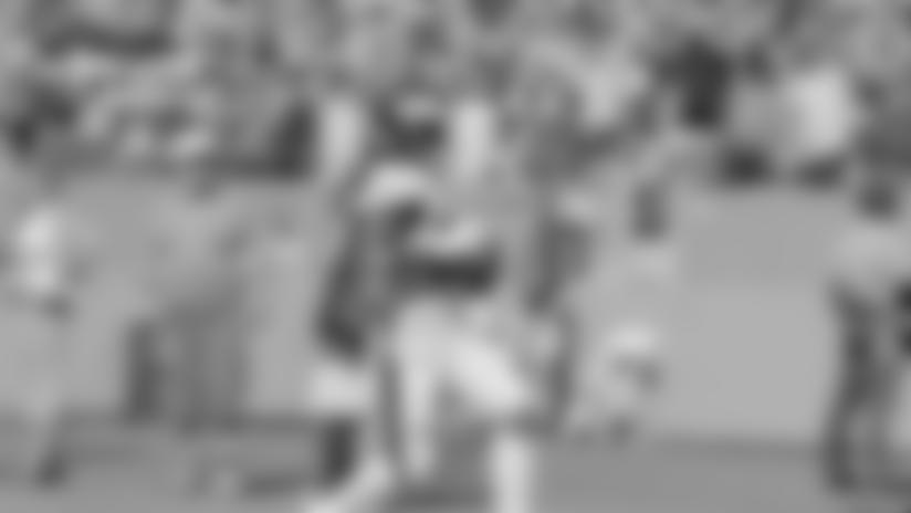 Merrill Cam: Miles Sanders TD vs. Dolphins