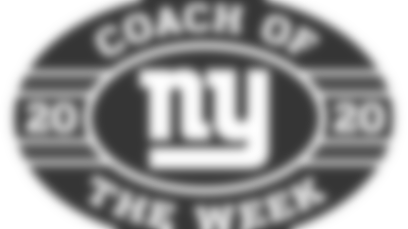 Giants name Brave's Victor Chiappa Coach of the Week