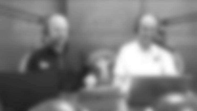 Big Blue Kickoff (3/4) | Combine athletic testing breakdown with Kent Lee Platte
