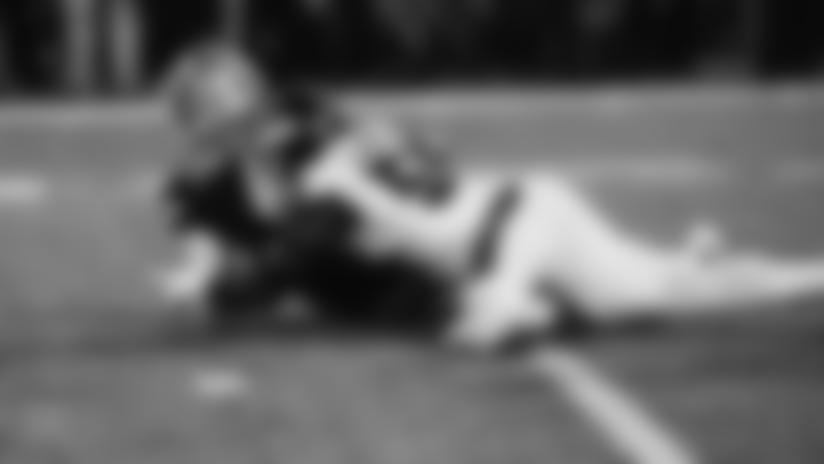 Dak's mishandled snap turns into easy TFL for Lorenzo Carter