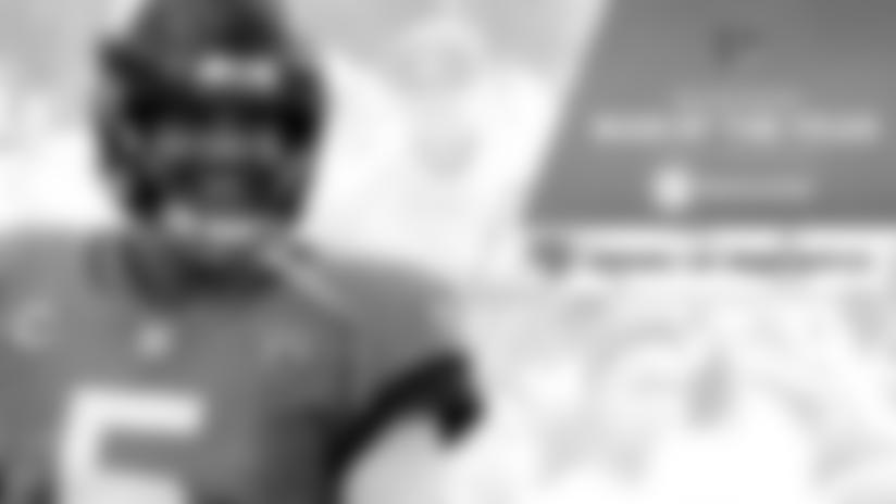 Quarterback Blake Bortles is this year's Jaguars Walter Payton Man of the Year nominee.