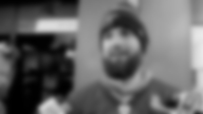 Will Grier and Gerald McCoy talk about their favorite holiday traditions
