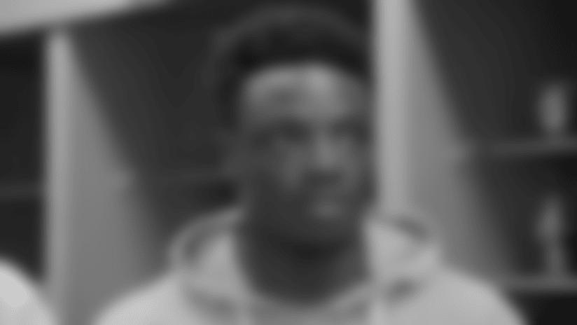 Samson Ebukam Postgame Locker Room Interview 8-18