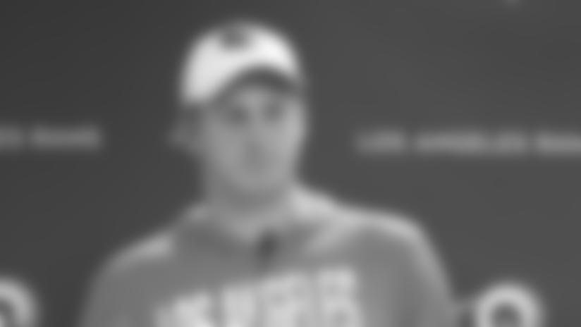 Jared Goff on returning from bye week, focused on Week 10