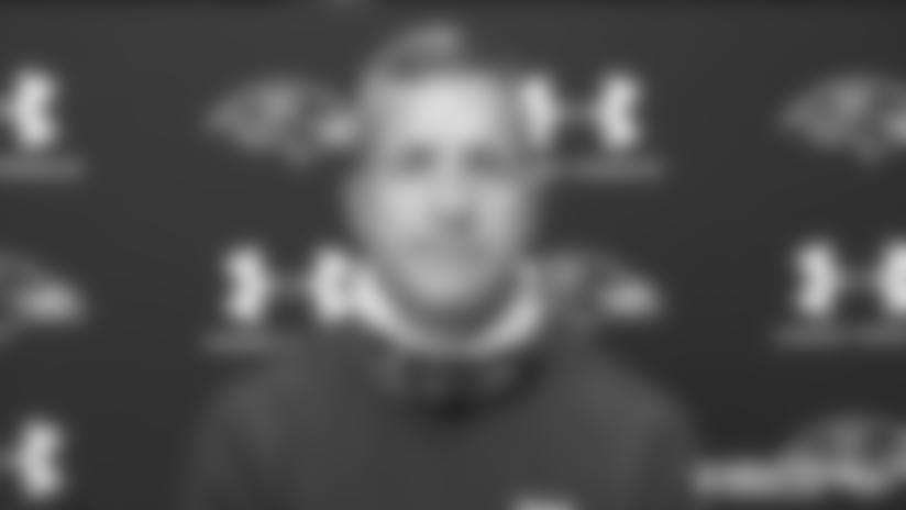John Harbaugh's Take on First Padded Practice
