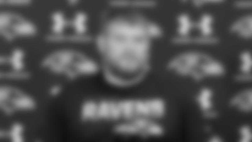 Marshal Yanda on the Ravens' Playoff Mentality