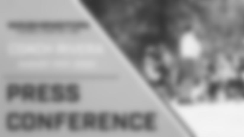 Press Conference: Head Coach Ron Rivera | August 31, 2020