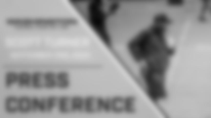 Press Conference: Scott Turner | September 1st, 2020