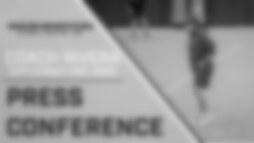 Press Conference: Head Coach Ron Rivera | September 3, 2020