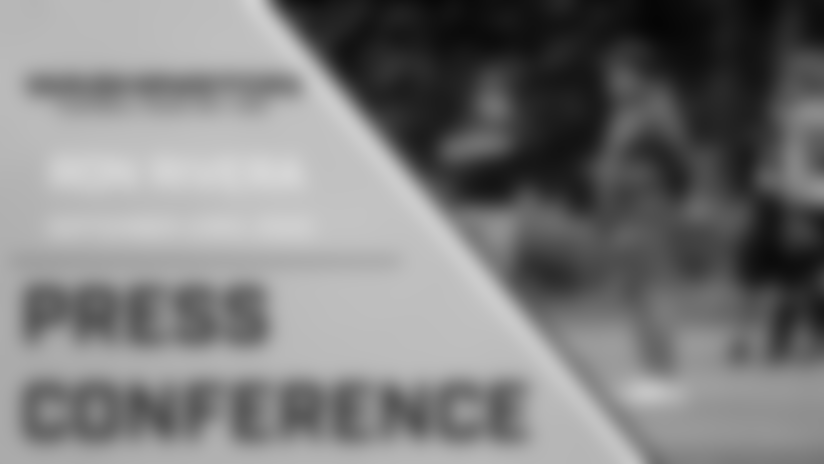 Press Conference: Head Coach Ron Rivera   September 23, 2020
