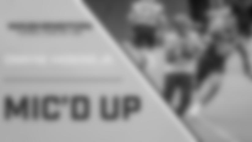 Mic'd up: Dwayne Haksins Jr