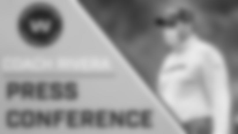 Press Conference: Head Coach Ron Rivera | August 25, 2020