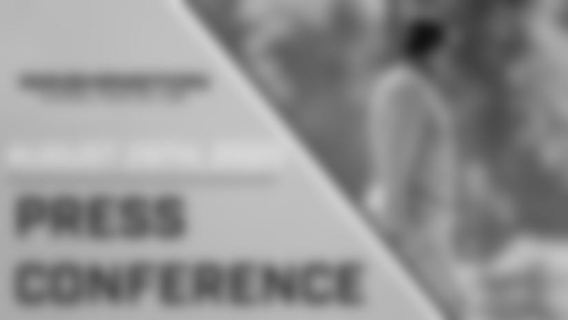 Press Conference: Head Coach Ron Rivera | August 29, 2020